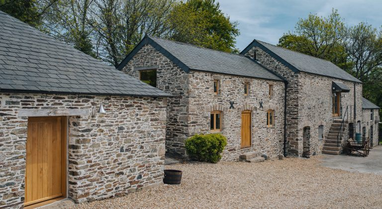 barn conversion with stable doors and bespoke timber windows and doors