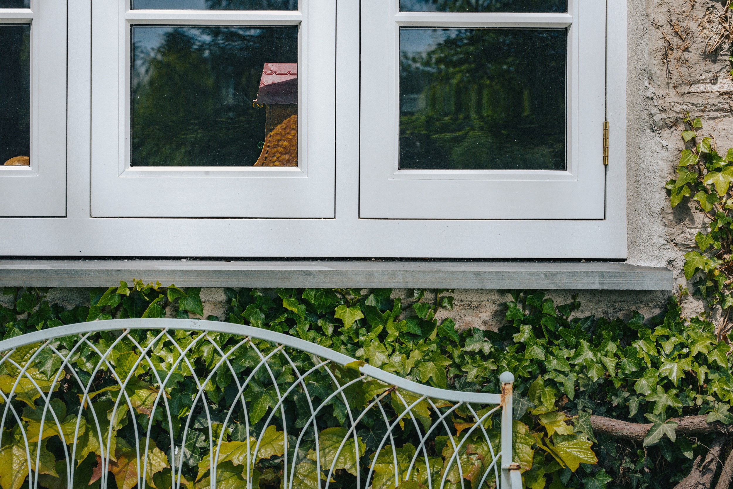 Close up view of a recent project for timber replacement windows
