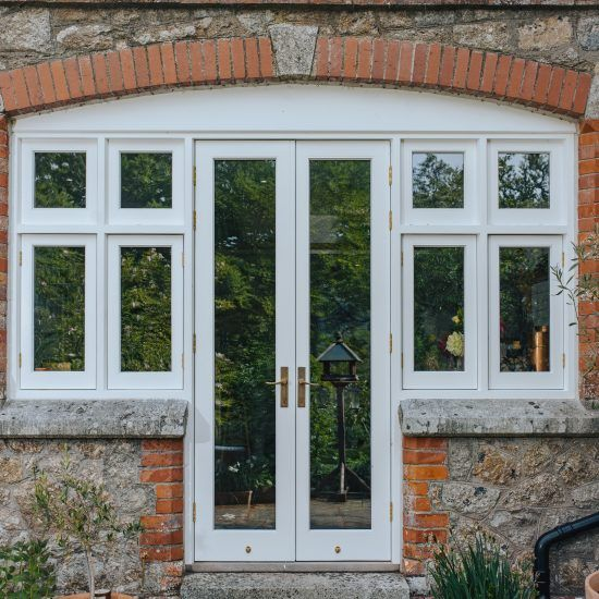 wooden double glazed windows