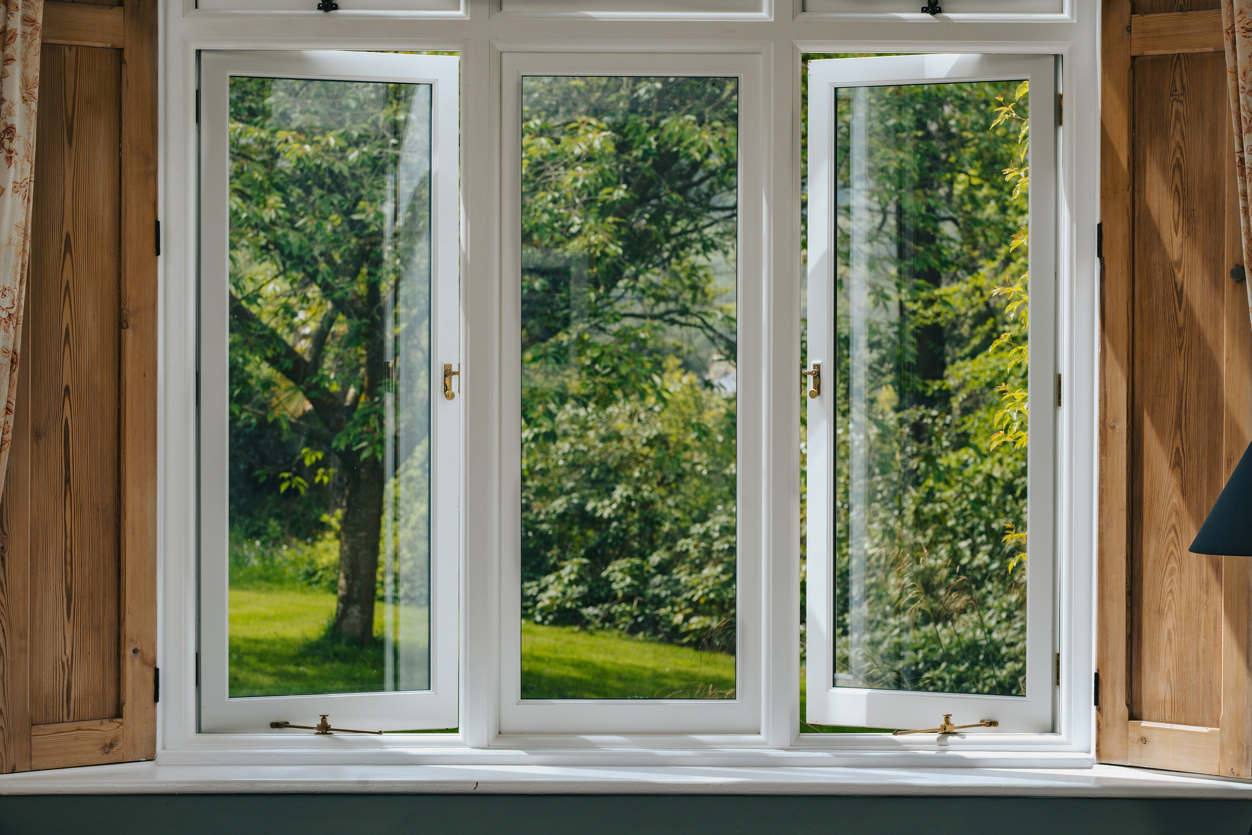 Internal view of a recent client project for wooden replacement windows