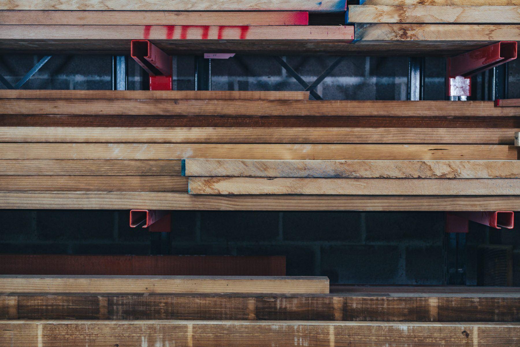 Accoya timber at Nathan McCarter Joinery workshop