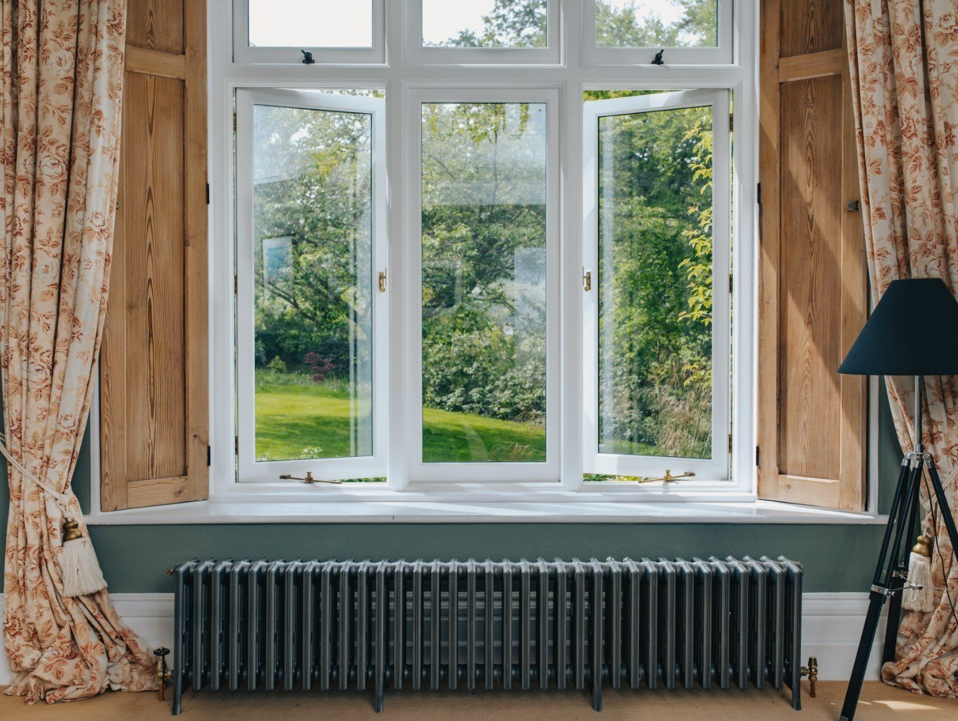 timber windows internal view