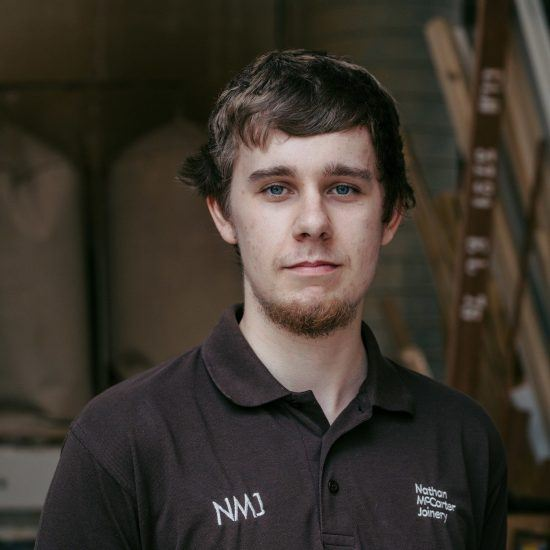 Adrian Hall - Joiner at Nathan McCarter Joinery