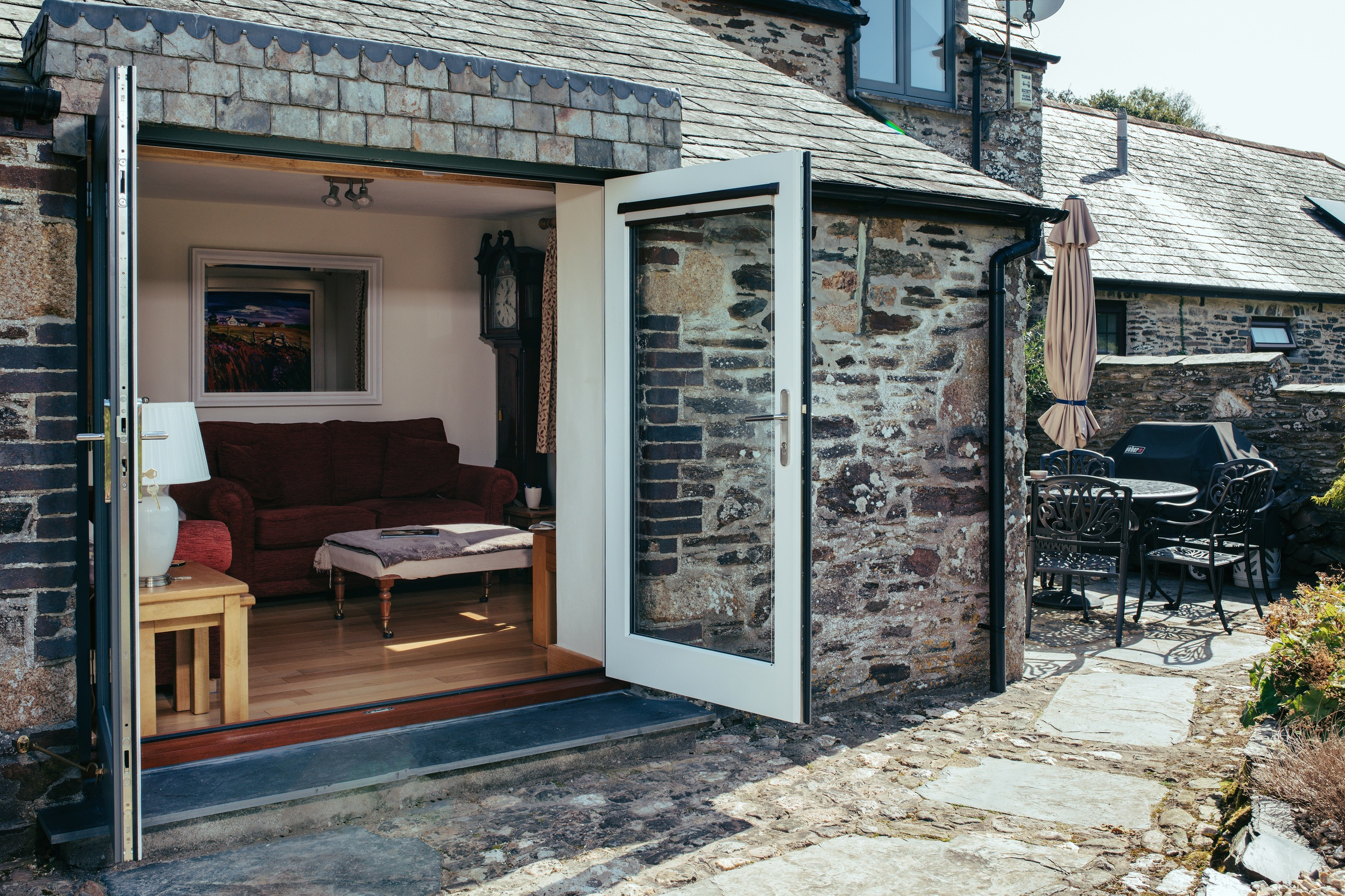 Secured By Design timber double french doors