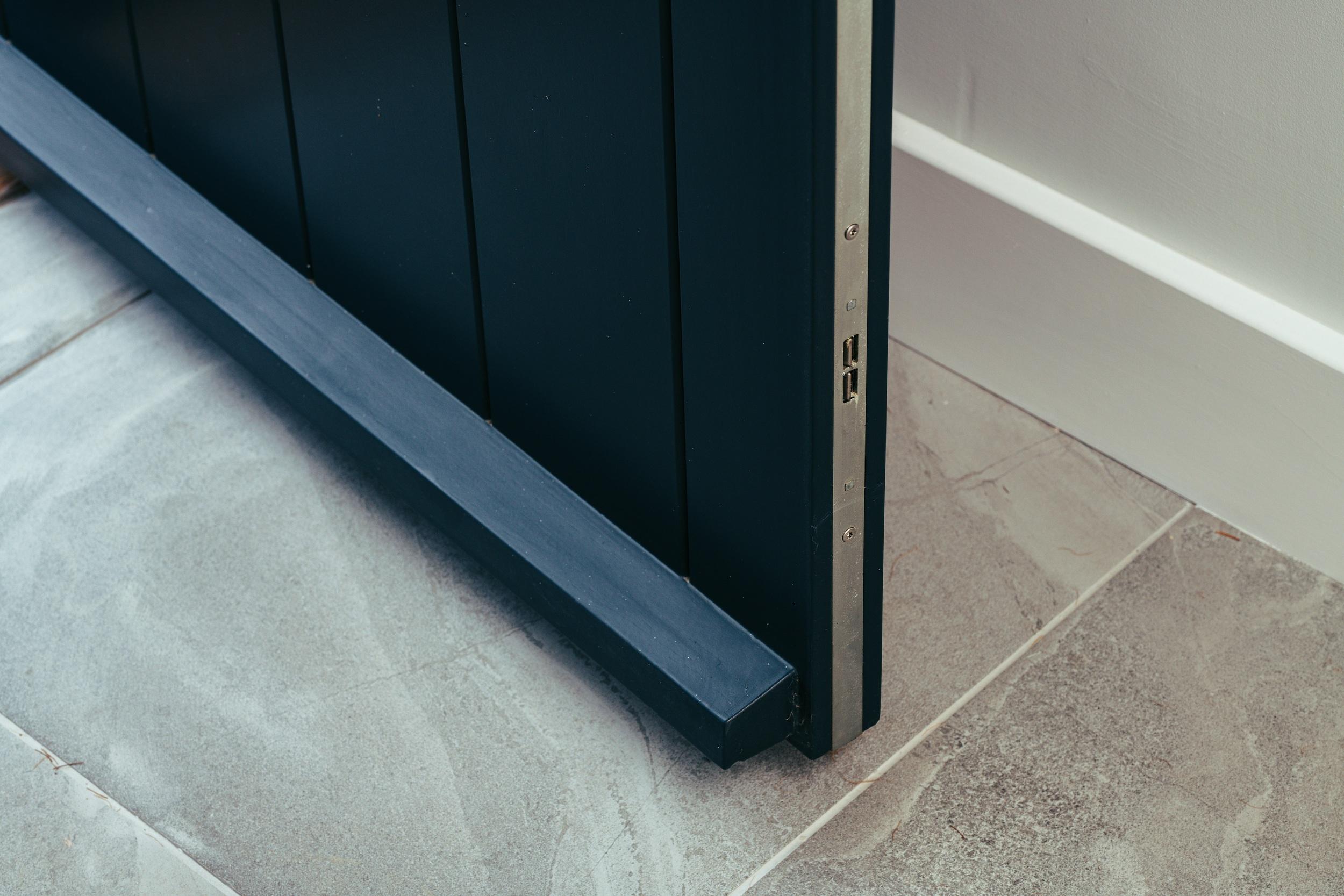 security timber door