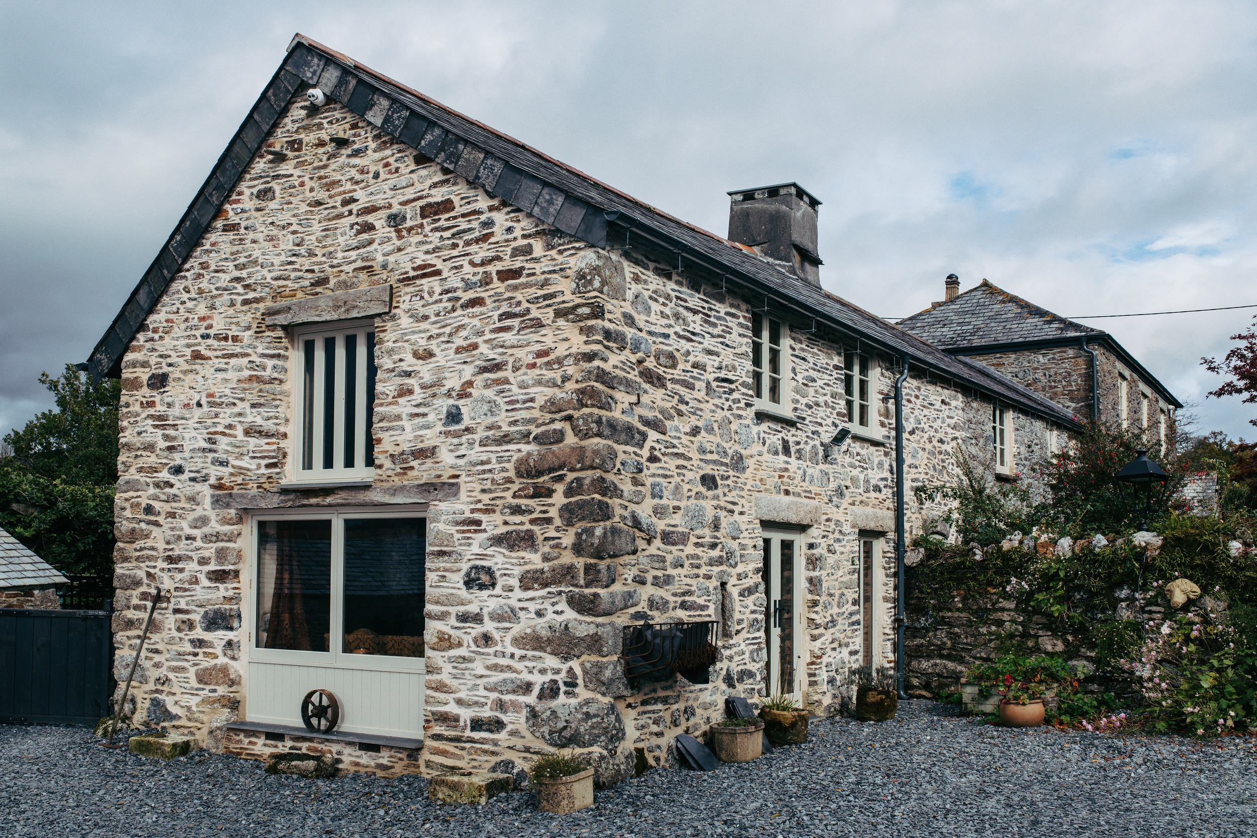 barn conversion with heritage windows